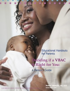 VBAC Handouts For Parents